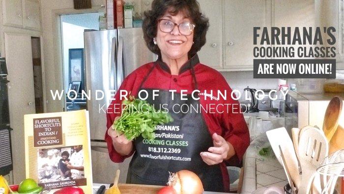 Farhana's Cooking Classes